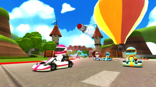 VR Karts gameplay