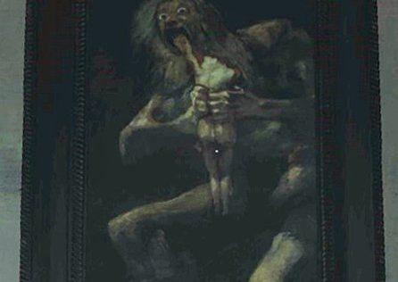 Goya – Saturn Eating His Son