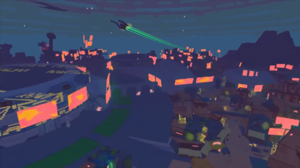 Screenshot from the Diaries of a Spaceport Janitor trailer.