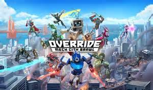 override logo