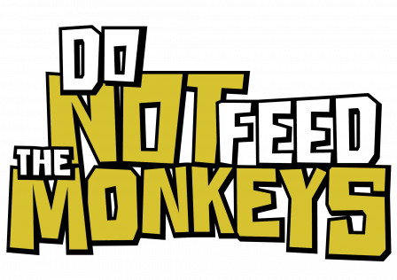 Do Not Feed the Monkeys – Logo Text