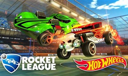 rocket league hot wheels logo