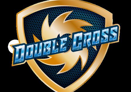 double cross logo