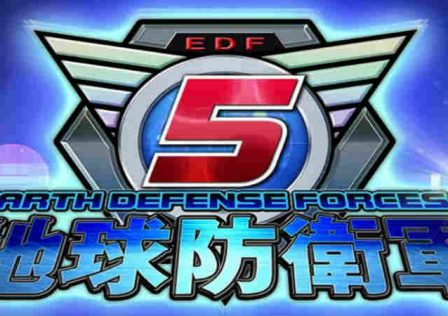 earth defense force 5 logo