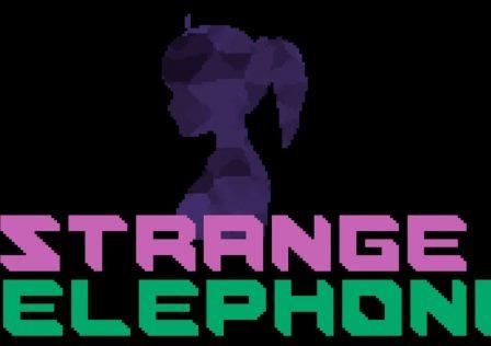 strange telephone logo